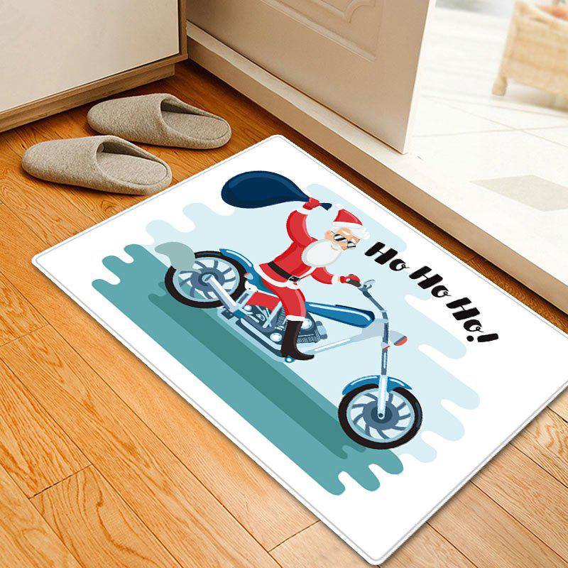 Christmas Santa Motorcycle Pattern Indoor Outdoor Area Rug inflatable cartoon customized advertising giant christmas inflatable santa claus for christmas outdoor decoration