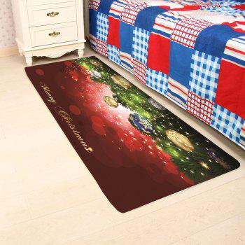 Light-spot and Baubles Pattern Skid Resistant Rug - COLORFUL W24 INCH * L71 INCH