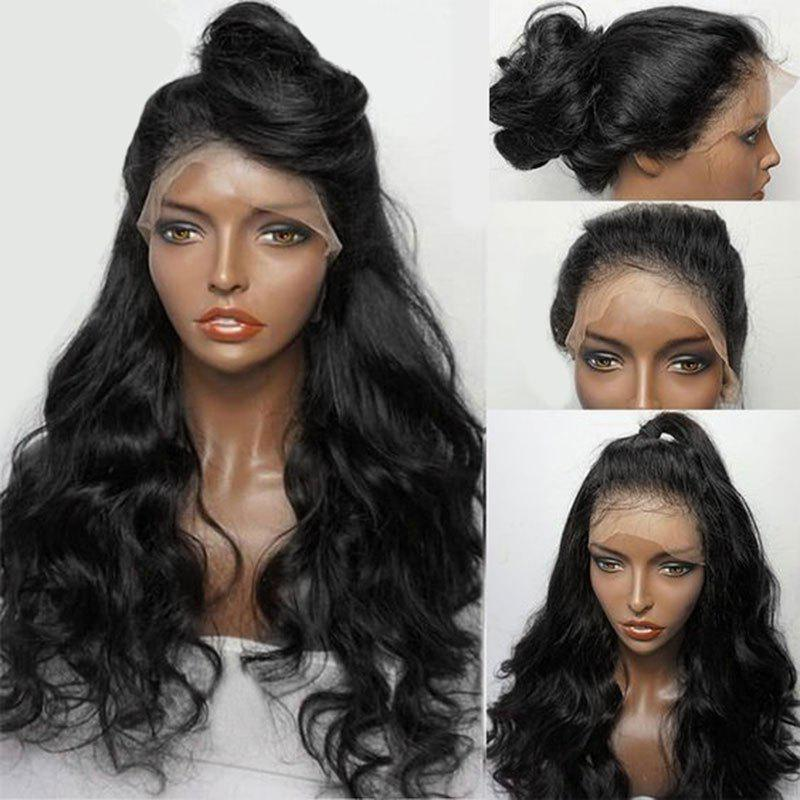 Long Free Part Fluffy Wavy Synthetic Lace Front Wig long free part fluffy kinky curly synthetic lace front wig