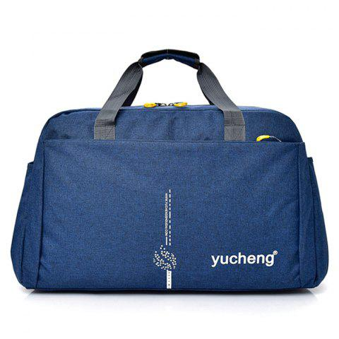 Multi Function Letter Gym Bag - BLUE