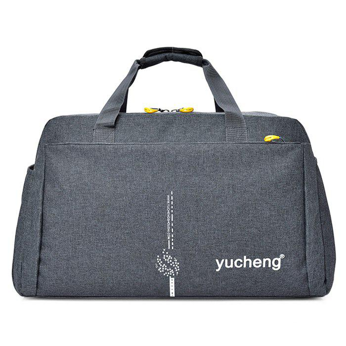 Multi Function Letter Gym Bag - GRAY