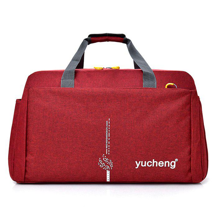Multi Function Letter Gym Bag - RED