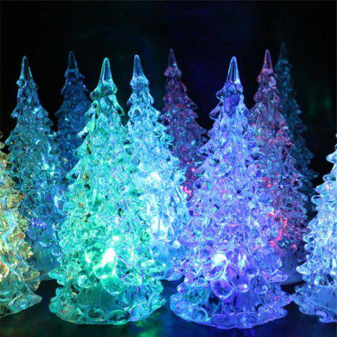 41% OFF  2019 Mini Christmas Tree Colors Changing LED Lights In ... a699b1e00974