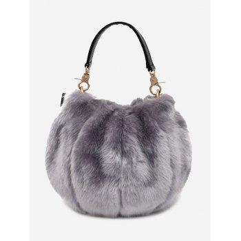 Faux Fur Multi Function Handbag