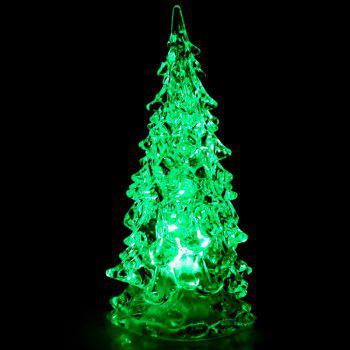 Mini Christmas Tree Colors Changing LED Lights - WHITE