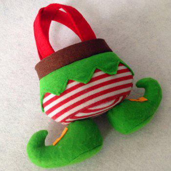 Elf Candy Christmas Tote Gift Bag - GREEN