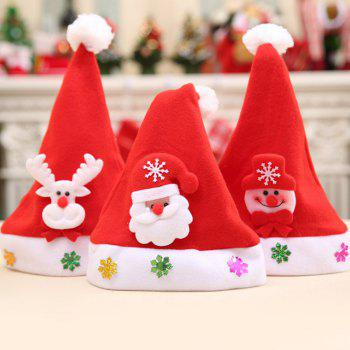 Christmas Different Ornaments Hat For Kids - RANDOM COLOR PATTERN RANDOM COLOR PATTERN