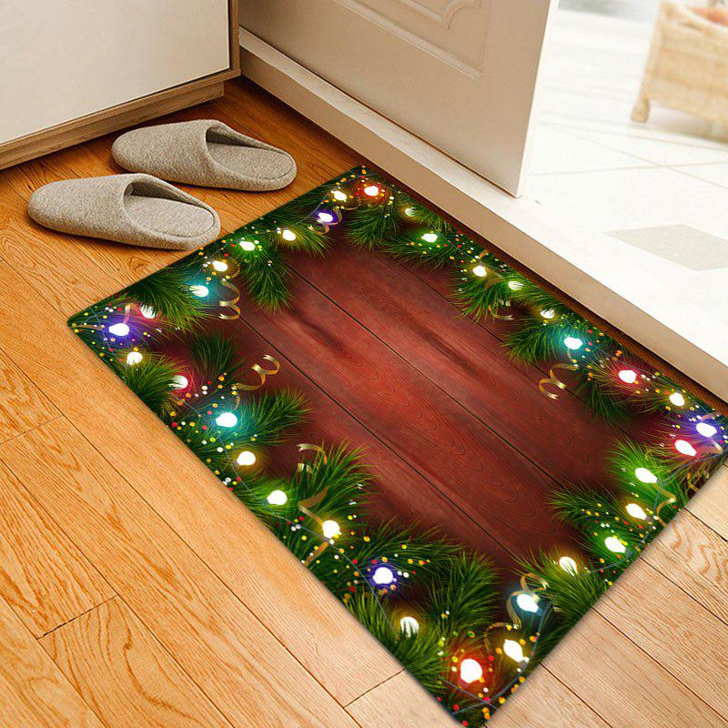 Christmas Pine Lights Pattern Indoor Outdoor Area Rug ковш rondell admiring 16cm 1 7l rds 745