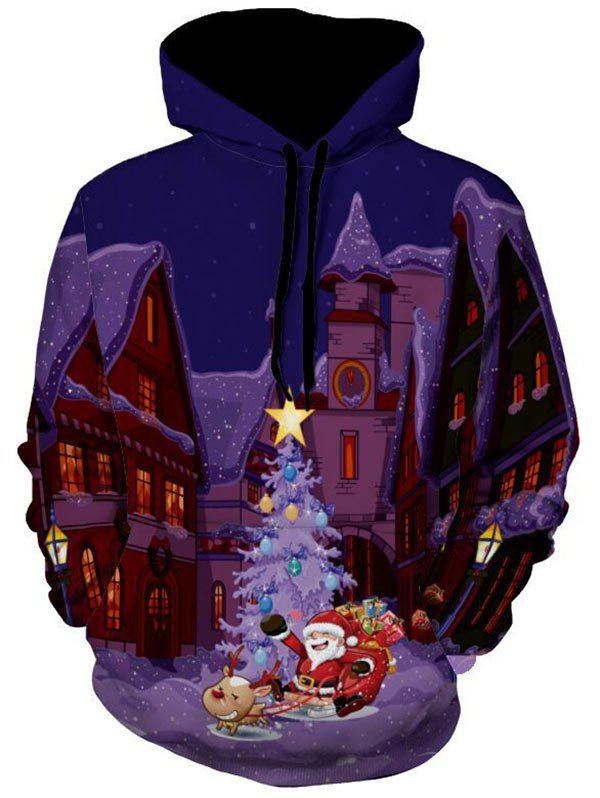 Santa Clause Castle 3D Print Christmas Hoodie replay ty200 7 5jx19 5x114 3 d60 1 et35 bkf