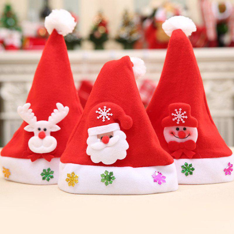 Christmas Different Ornaments Hat For Kids - RANDOM COLOR PATTERN