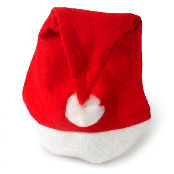 Simple Christmas Party Hat - RED RED
