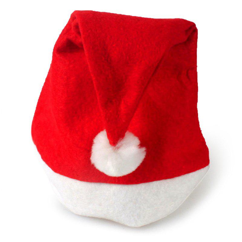 Simple Christmas Party Hat - RED