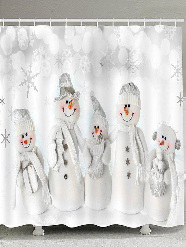 Snowmen Family Patterned Bath Curtain family matters – secrecy