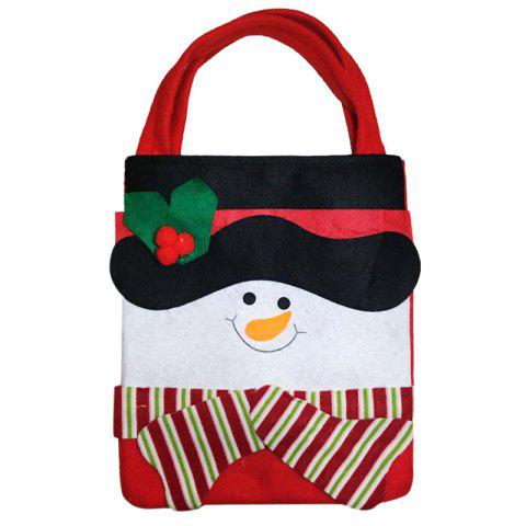 1PCS Creative Christmas Gift Bag - BLACK 43CM*23CM