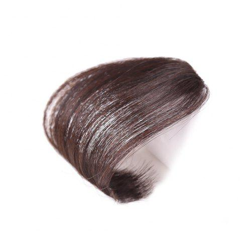 Extension de Cheveux Bang Clip-in Naturel - marron foncé