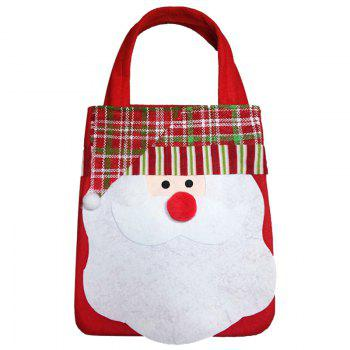 1PCS Creative Christmas Gift Bag - WHITE WHITE