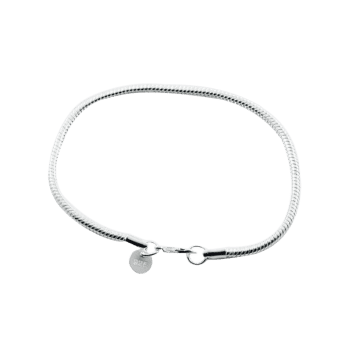 Unique Snake Chain Bracelet -  SILVER