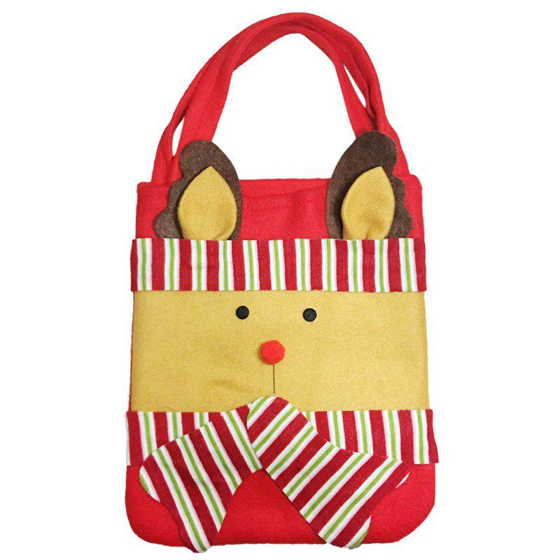 1PCS Creative Christmas Gift Bag - YELLOW 43CM*23CM