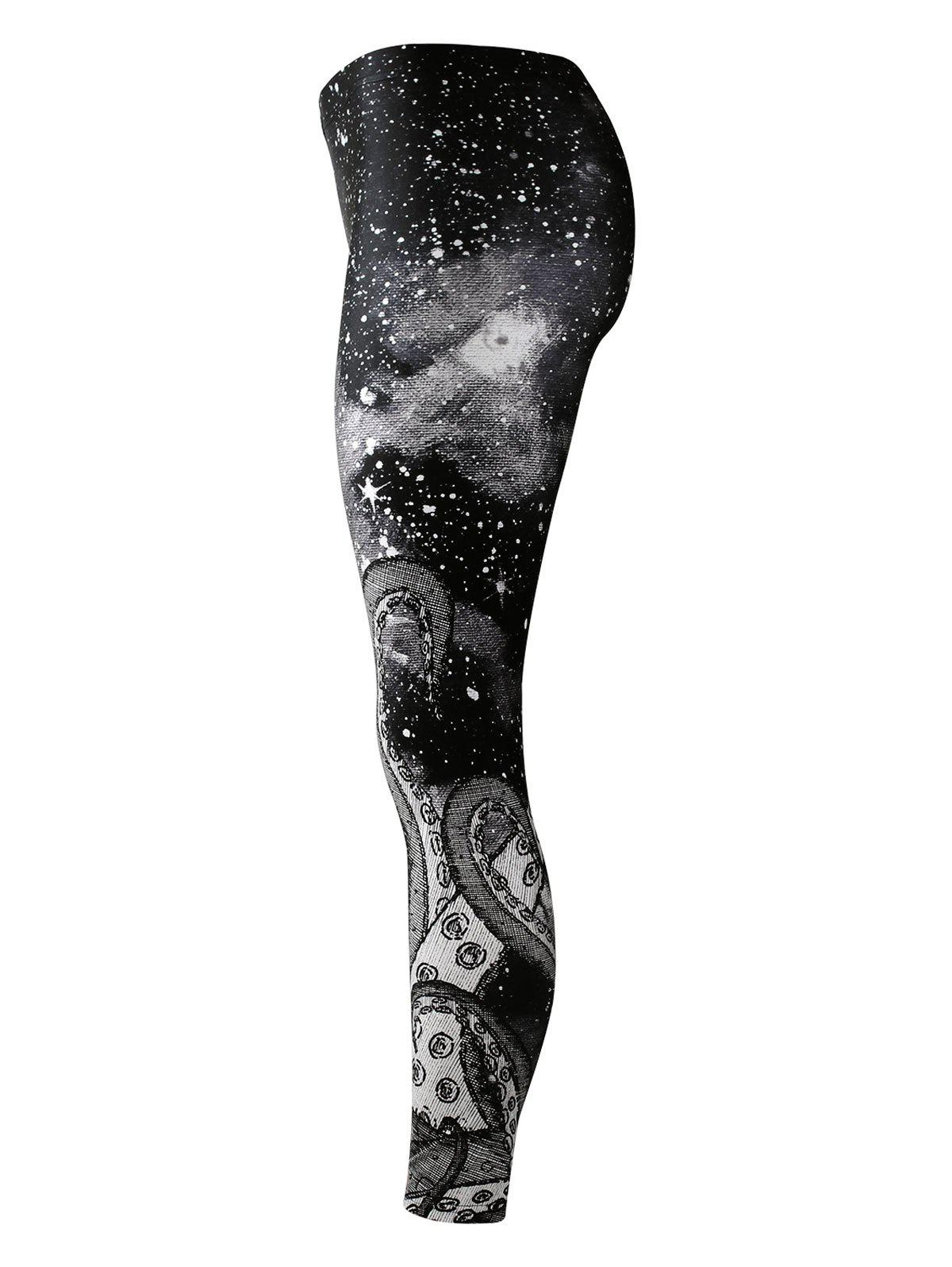 3D Print Fitted Leggings - BLACK S