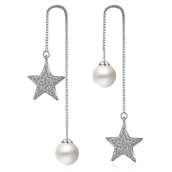 Faux Pearl Star Irre...