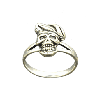 Alloy Cool Skull Finger Ring - SILVER SILVER