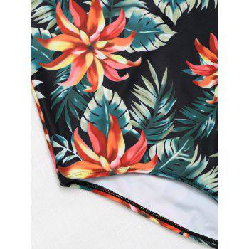 High Cut Cami Tropical Maillots de Bain - Floral M
