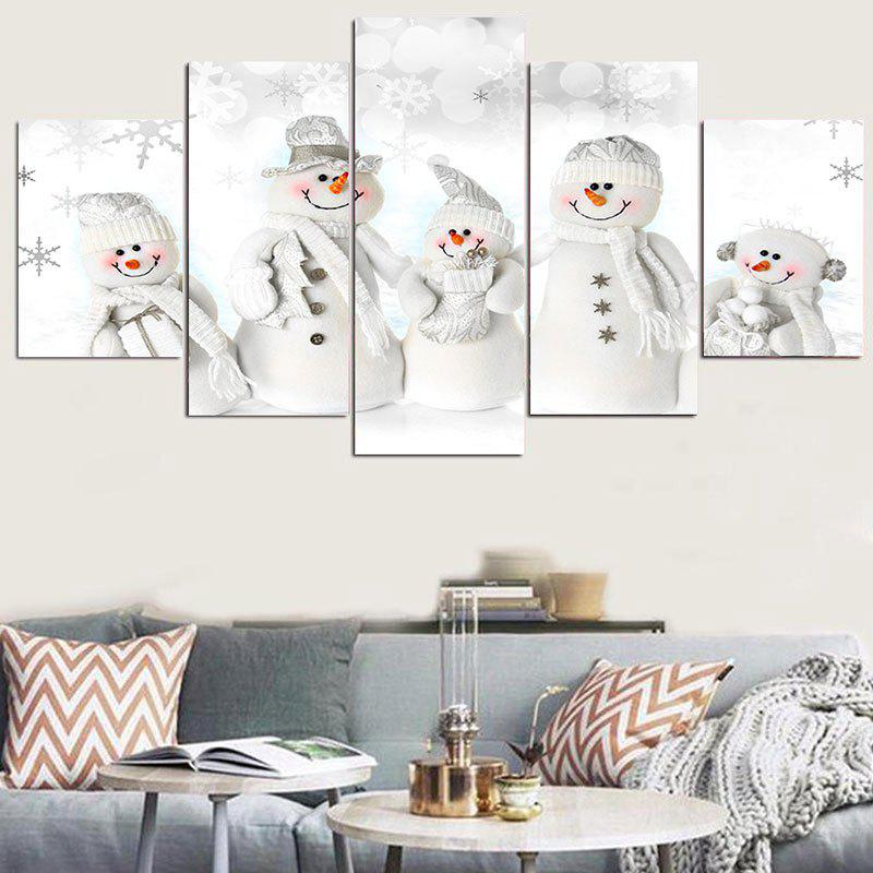 Snowmen Family Printed Wall Stickers family matters – secrecy