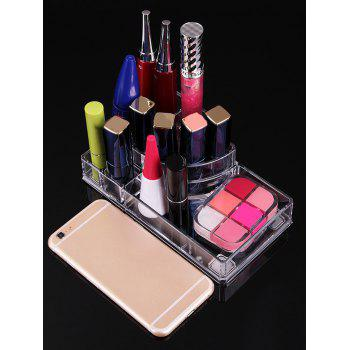 Transparent Acrylic Cosmetics Display Stand -  TRANSPARENT