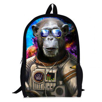 3D Print Orangutan Astronaut Backpack - COFFEE COFFEE