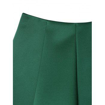 Flower Cutwork Skirt - GREEN GREEN