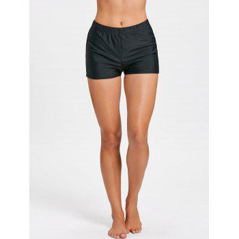 Beachwear Boxer Boyshort Swim Bottom