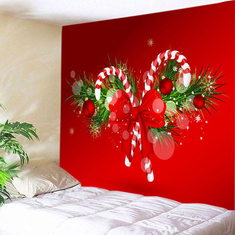 Christmas Candy Cane Print Tapestry Wall Hanging Art christmas bells candy cane charm beads bracelet