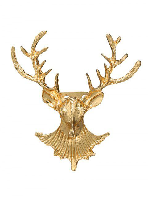 Broche de cerf de Noël en alliage - d/ 39;or