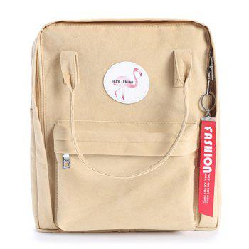 Multi Function Flamingo Backpack - KHAKI