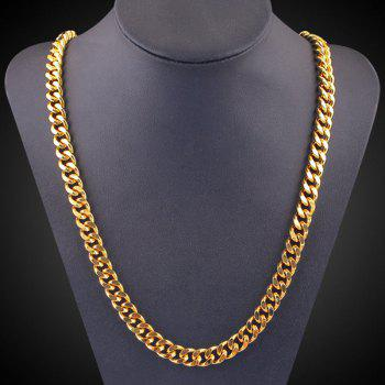 Chunky Link Chain Necklace - GOLDEN GOLDEN