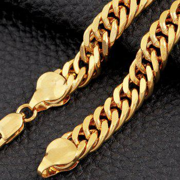 Chunky Alloy Chain Bracelet - GOLDEN