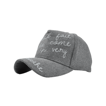 Outdoor Letter Embroidery Baseball Hat - GRAY