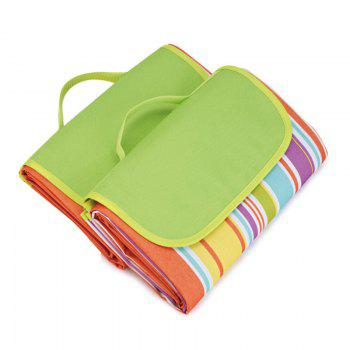 Outdoor Camping Beach Waterproof Oxford Picnic Blanket - COLORFUL 195*200CM