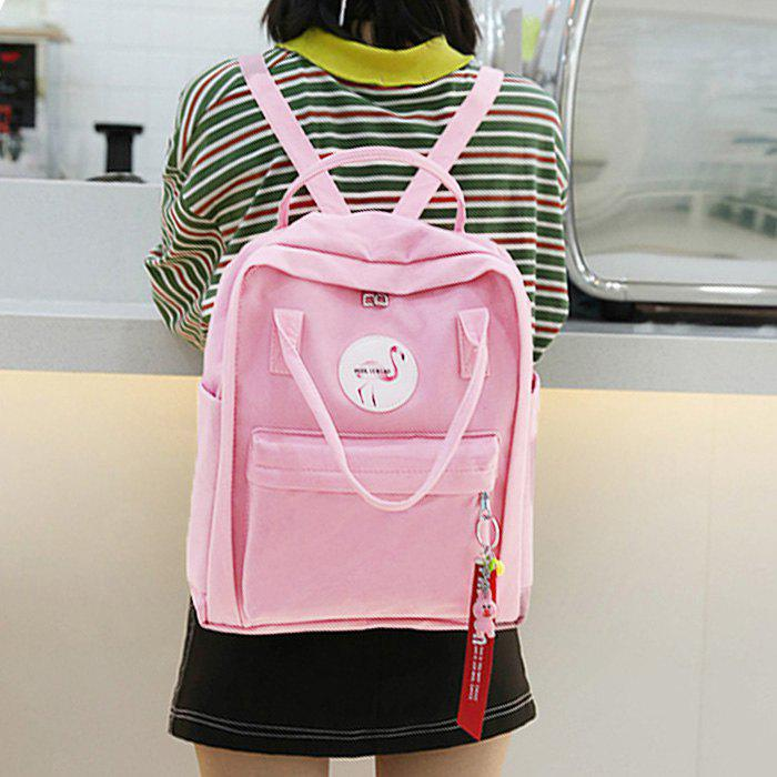Multi Function Flamingo Backpack - PINK