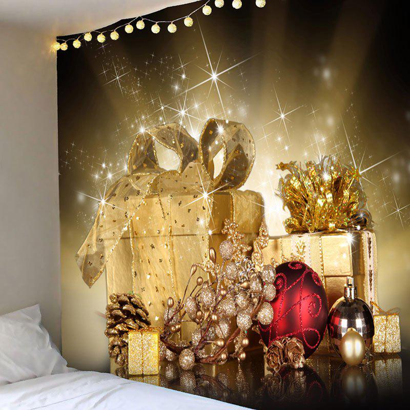Hanging Christmas Gifts Balls Pattern Wall Tapestry waterproof merry christmas graphic pattern wall hanging tapestry
