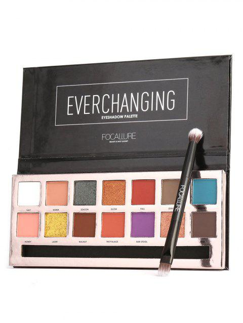 14 Colors Professional Natural Long Lasting Eyeshadow Palette - 01