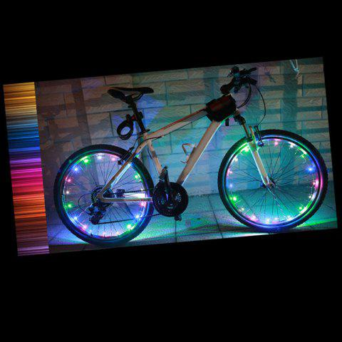 Waterproof Bike Wheel Spokes Light LED Light Strip - COLORMIX