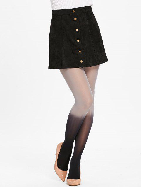 Gradient Color Pantyhose - BLACK ONE SIZE