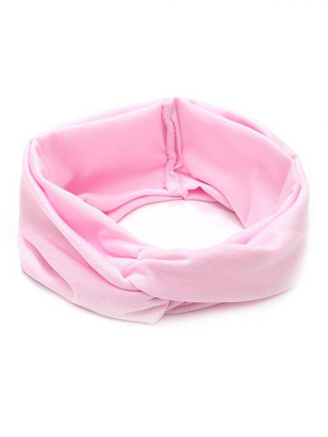 Multifunction Wide Elastic Hair Band - LIGHT PINK