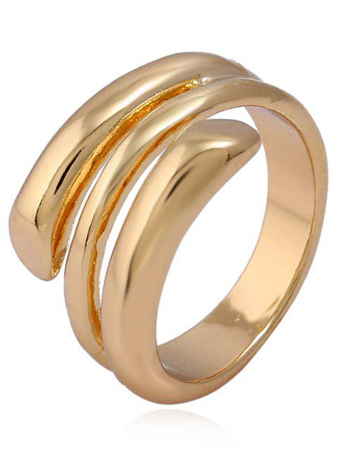 Bague Manchette Simple en Alliage - Or ONE-SIZE