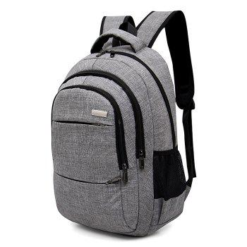 Multi Function Front Pockets Backpack - GRAY