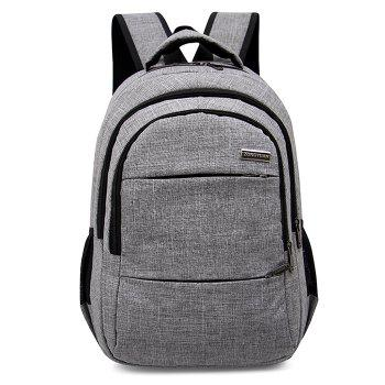 Multi Function Front Pockets Backpack - GRAY GRAY