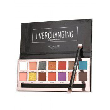 14 Colors Professional Natural Long Lasting Eyeshadow Palette - #01