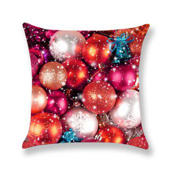 Colored Balls Pattern Square Pillow Case - COLORFUL COLORFUL