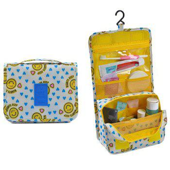 Print Patchwork Storage Bag - YELLOW YELLOW